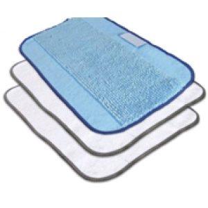 Mikroszálas törlőkendő csomag MIX - 2 fehér, 1 kék