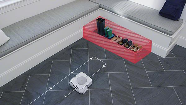 iRobot Braava virtuális fal