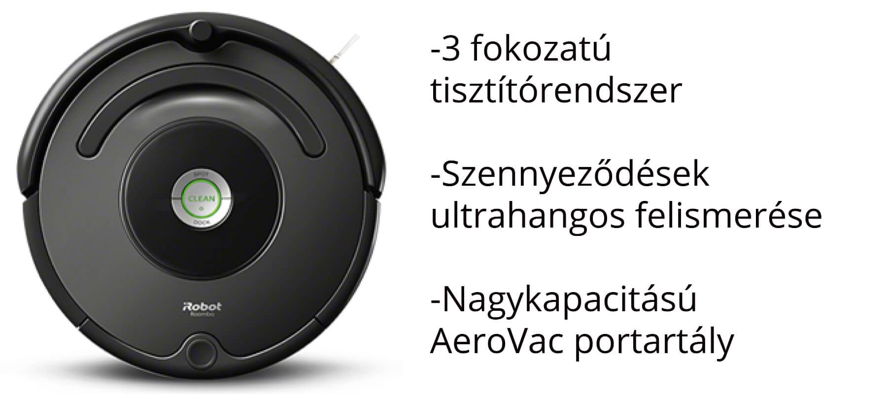 iRobot Roomba 676 robotporszívó